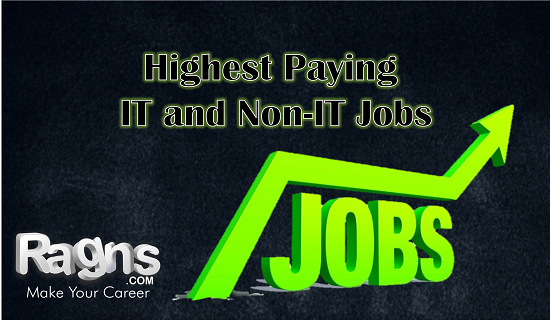 high paying jobs in India