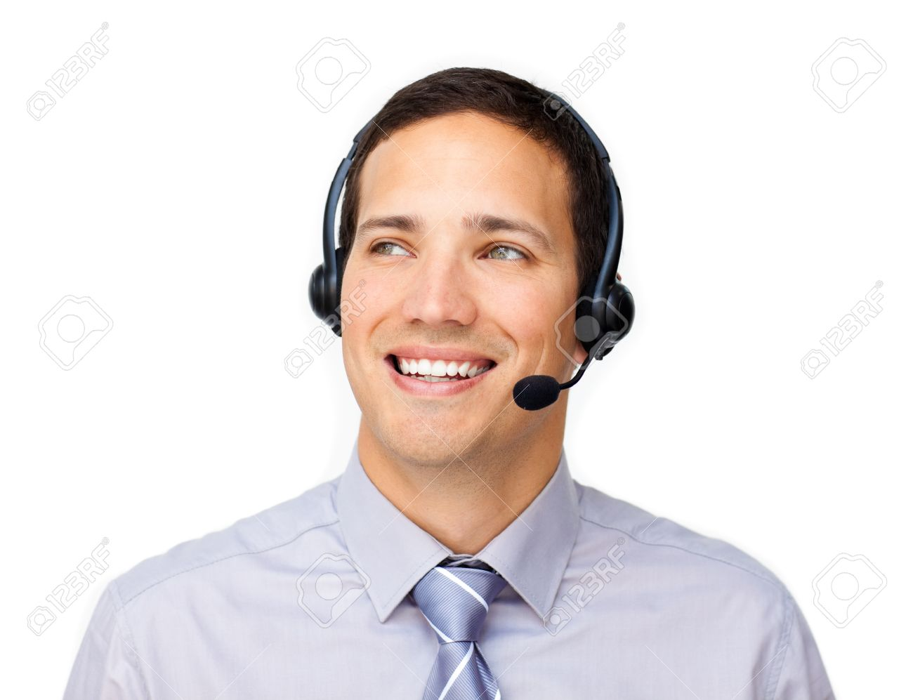 customer service man